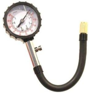 Manometro controllo pressione gomme manuale misuratore preciso pneumatici auto