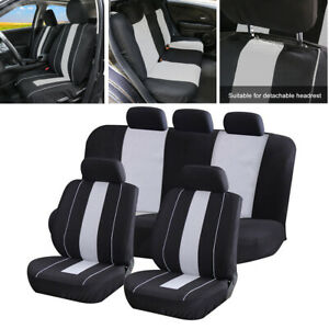 5 Seat Universal Car Seat Cover Breathable Mesh Full Set Cushion Protector