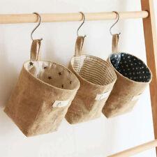 Home Decor Hanging Wall Pocket Storage Basket Sundries Organizer Storage Bag