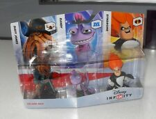 DISNEY INFINITY VILLAINS PACK DAVY JONES SYNDROME RANDY NEW