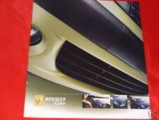Renault Clio Authentique α. privilege prospectus de 2004