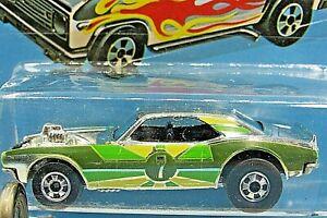HOT WHEELS VHTF 1977 SUPER CHROMES SERIES HEAVY CHEVY CAMARO RARE CARDED