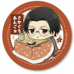 BUNGO STRAY DOGS Bell house toy Metal Can badge Sakaguchi Ango Can badge 18