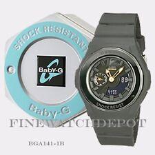 Authentic Casio Baby-G Classic Women's Black Digital Analog Watch BGA141-1B