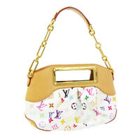 LOUIS VUITTON JUDY PM 2WAY HAND BAG TR2171 MONOGRAM MULTI-COLOR M40257 30406