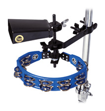 Latin Percussion LP160NYK LP Tambourine & Cowbell With Mount Kit