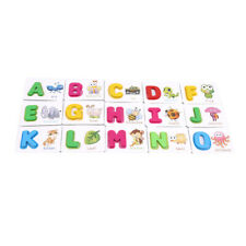 Preschool Learning English Letter Cognized Cards Early Educational Kids Toys N7