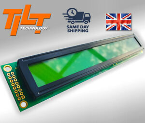 LCD Module 40x2 with Backlight, 5V, Yellow-Green, STN, Positive/Transflective