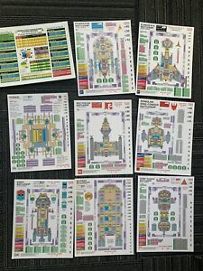 ADB Federation Commander Battleships ALL Ship Cards