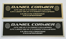 Daniel Cormier UFC nameplate for signed mma gloves photo or case