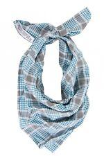 B.M.Company Neckerchief Small Foulard Handkerchief bandala Checked Print Classic
