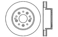 Centric Parts 121.62007 Rear Disc Brake Rotor