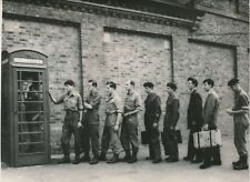 ANGLETERRE 1956 -Cabine Téléphonique Militaires Caserne Warley Brentwood-PR 1155