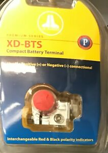 JL Audio XD-BTS Ultra Compact Brass Battery Terminal Marine Grade Pos/Neg NEW