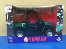 New Ray Green Yamaha Rhino 700 4x4 UTV 1:12 Die-Cast Replicas w/ plastic 43253