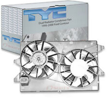 TYC Dual Radiator and Condenser Fan Assembly for 1995-2000 Ford Contour 2.5L ql