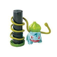 Pokemon Desk de Oyakudachi Figure #3 Bulbasaur Vine Whip Stamp stand