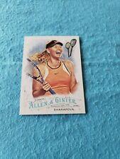 2016 Topps Allen & Ginter Maria Sharapova Card #212