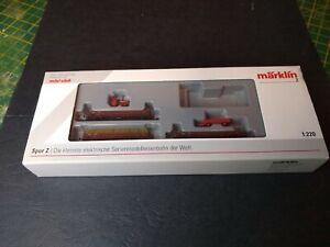 Marklin Z Scale Mini Club 81772 set new, missing locomotive