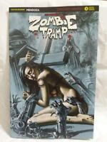 ZOMBIE TRAMP ORIGINS #3 AOD COLLECTABLES EXCLUSIVE SILVER FOIL VARIANT COVER