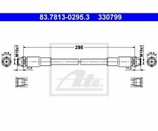 ATE Brake Hose 83.7813-0295.3