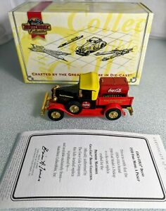 PREMIERE MATCHBOX MODEL'S OF YESTERYEAR 1930 FORD MODEL A COCA COLA YPC05 NIB