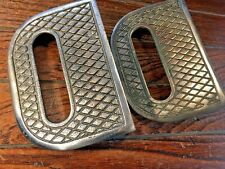 Vintage Pair Of Old Bronze Perko Steps Model 351
