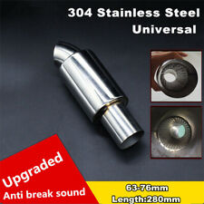 2.5 Inch Stainless Steel Car Exhaust Downpipe Branch Sound Tuning Muffler Pipe