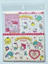 DAISO Sanrio Characters Letter Set from Japan Hello Kitty My Melody