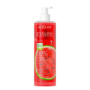 Eveline Natural Watermelon Moisturising Soothing Face and Body Hydro Gel 400ml