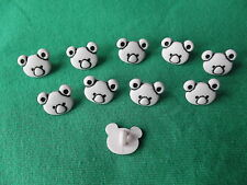 10 X Rosa Pálido Oso Koala Botones ~ tamaño aproximado de 10 Mm X 10 Mm