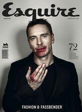 Esquire Magazine SPANISH,Michael Fassbender,Joseph Gordon-Levitt,George Clooney