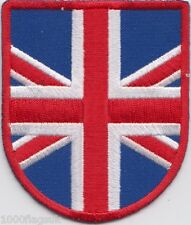Union Jack Shield Flag Embroidered Badge Patch