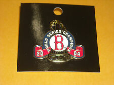AWESOME 2004 BOSTON RED SOX WORLD SERIES CHAMPION PIN