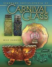 Antique CARNIVAL GLASS PRICE VALUES GUIDE COLLECTORS BOOK **Last Book Printed**