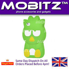 Brand New Punk Penguin 3D Design Silicone Gel Case Cover Skin for iPhone  4 4S