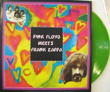 "FRANK ZAPPA ""PINK FLOYD MEETS FRANK ZAPPA""  rare lp green vinyl unplayed"