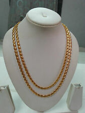Two Line Designer Party Wear Gold Plated Fashion Jewellery Necklace