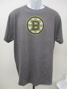 New Boston Bruins Mens Sizes S-M-L-XL Gray Majestic Shirt MSRP
