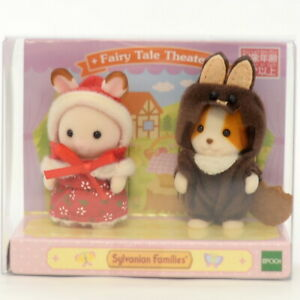 Sylvanian Families FAIRY TALE THEATER BABY PAIR Calico Critters Japan Retired