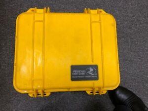 Pelican 1400 Watertight Hard Case with Foam Insert - Yellow