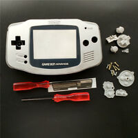 Silver Housing Case Shell Pack For Nintendo Game Boy Advance GBA