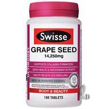 AU SELLER Swisse Ultiboost Grape Seed 14250mg High Strength 180 tablets