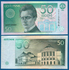 ESTLAND / ESTONIA 50 Krooni 1994  UNC  P.78 a