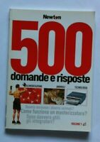 LIBRO 500 DOMANDE E RISPOSTE - NEWTON