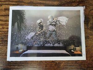 Banksy - Walled Off Hotel Postcard set - Sealed and original - 2017