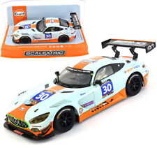 Scalextric C3853 Mercedes AMG GT3 Gulf Slot Car 1/32 Paul Ricard