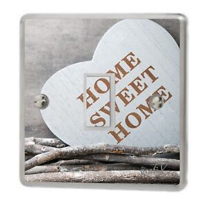 Home Sweet Home Light Switch Sticker Vinyl/Graphics/Decal/Skin Cover sw39