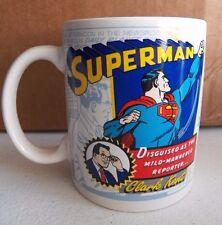 SUPERMAN Logo Clark Kent Coffee Mug Cup Zak Designs 11.5 oz 340 mL - NEW