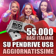 55.000 BASI ITALIANE MIDI con testo per KARAOKE AGGIORNATISSIME 2017 MID KAR